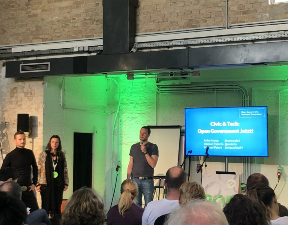 Open Government auf der #rp18